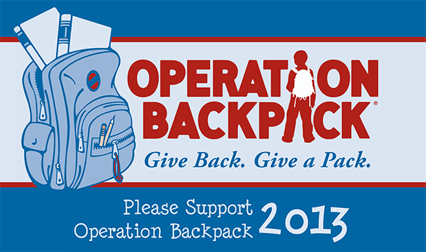 2013 Operation Backpack